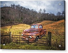1952 Ford V8 Truck Acrylic Print