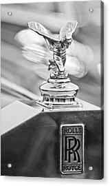 1952 Rolls-royce Silver Wraith Hood Ornament 2 Acrylic Print