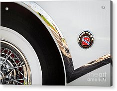 Acrylic Print featuring the photograph 1953 Buick Abstract 2 by Dennis Hedberg
