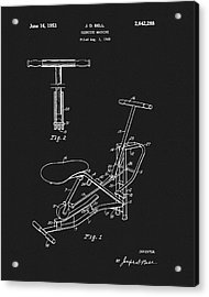 1953 Exercise Apparatus Patent Acrylic Print by Dan Sproul