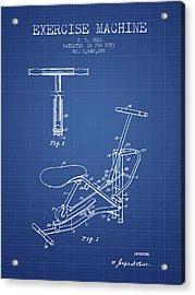 1953 Exercising Device Patent Spbb07_bp Acrylic Print
