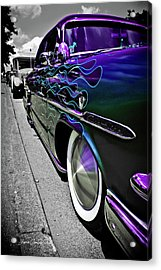 1953 Ford Customline Acrylic Print by Joann Copeland-Paul
