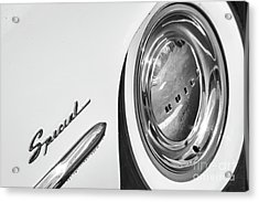 Acrylic Print featuring the photograph 1953 Special Monotone by Dennis Hedberg