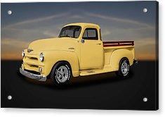 1954 Chevrolet 3100 Series Pickup Truck  -  54chtk544 Acrylic Print