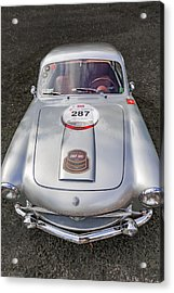 1954 Siats Vignale Coupe Acrylic Print by Jack R Perry