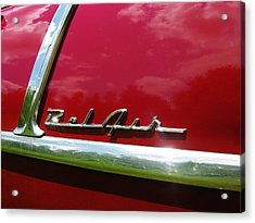 1955 Belair Acrylic Print by Sherman Perry