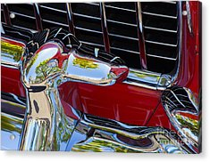 1955 Chevy Coupe Grill Acrylic Print
