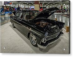 Acrylic Print featuring the photograph 1955 Ford Customline by Randy Scherkenbach