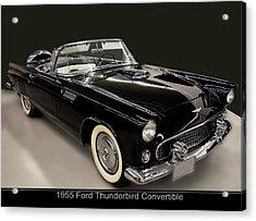 1955 Ford Thunderbird Convertible Acrylic Print