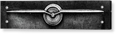1956 Buick Special Emblem In Black And White Acrylic Print