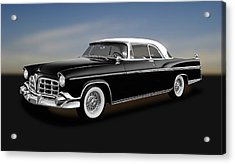 Acrylic Print featuring the photograph 1956 Chrysler Imperial Southampton   -   1956chryslerimperial170226 by Frank J Benz