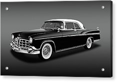 Acrylic Print featuring the photograph 1956 Chrysler Imperial Southampton   -   1956imperialhardtopfa170226 by Frank J Benz
