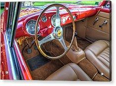 1956 Ferrari 250 Gt Boano Alloy Interior Acrylic Print