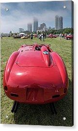 Acrylic Print featuring the photograph 1956 Ferrari 290mm - 2 by Randy Scherkenbach
