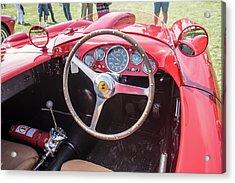 Acrylic Print featuring the photograph 1956 Ferrari 290mm - 4 by Randy Scherkenbach