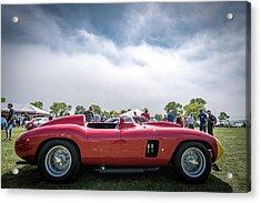 Acrylic Print featuring the photograph 1956 Ferrari 290mm by Randy Scherkenbach