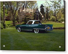 1956 Nash Rambler Palm Beach Coupe Acrylic Print