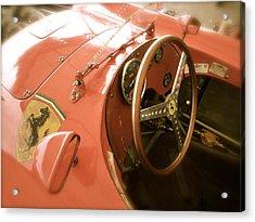 1956 Type Lancia Ferrari D50a Cockpit Acrylic Print