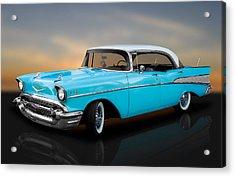 1957 Chevrolet Bel Air 4 Door Hardtop Acrylic Print