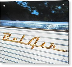 Acrylic Print featuring the photograph 1957 Chevrolet Bel Air by Theresa Tahara