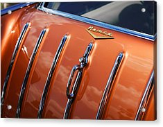 Acrylic Print featuring the photograph 1957 Chevrolet Nomad by Gordon Dean II
