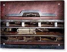 1957 Chevrolet Pickup Truck Grille Emblem -0324ac Acrylic Print