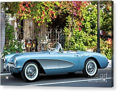 Acrylic Print featuring the photograph 1957 Corvette by Brian Jannsen