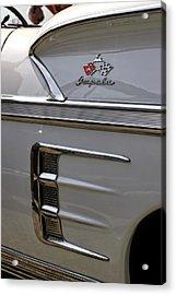 1958 Chevrolet Impala Acrylic Print by Gordon Dean II