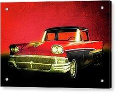 1958 Ford Ranchero 1st Generation Acrylic Print