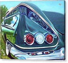 1958 Reflections Acrylic Print