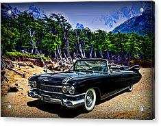 1959 Cadillac Eldorado Biarritz Convertible Acrylic Print