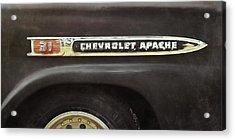 1959 Chevy Apache Acrylic Print by Scott Norris