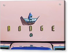 1959 Dodge Coronet Emblem -0916c Acrylic Print