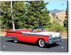1959 Ford Fairlane 500 Acrylic Print