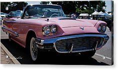 1959 Ford Thunderbird Convertible Acrylic Print by Joann Copeland-Paul