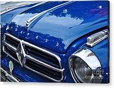 1960 Borgward Isabella Coupe Acrylic Print by Kaye Menner