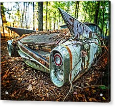 1960 Cadillac At Rest Acrylic Print