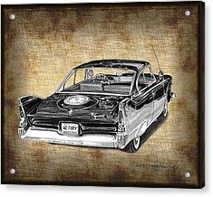 1960 Plymouth Fury IIi Acrylic Print