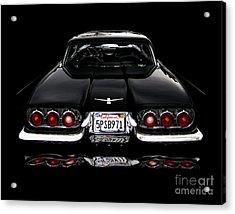 1960 Thunderbird Hardtop Coupe Acrylic Print by Peter Piatt