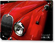 Acrylic Print featuring the photograph 1960s Jaguar by M G Whittingham