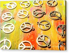 1960s Peace Movement Acrylic Print