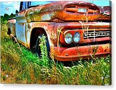 1961 Chevrolet Apache 10 5 Acrylic Print