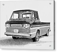 1961 Chevrolet Corvair Rampside Acrylic Print by Daniel Storm