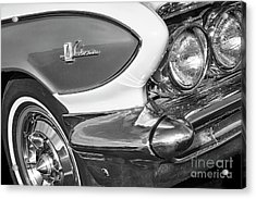 Acrylic Print featuring the photograph 1961 Le Sabre Monotone by Dennis Hedberg