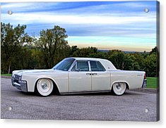1961 Lincoln Continental Acrylic Print