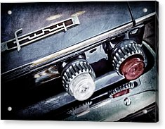 1962 Plymouth Fury Taillight Emblem -0458ac Acrylic Print