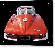 1963 Corvette Stingray Split Window Rear Acrylic Print