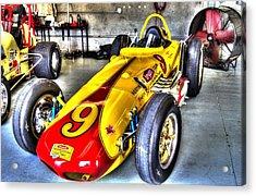 1963 Eddie Sachs Indy Car Acrylic Print