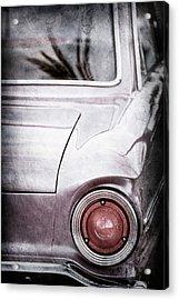 1963 Ford Falcon Taillight -0566ac Acrylic Print