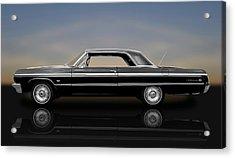 1964 Chevy Impala Super Sport Hardtop  -  1964chimp9591 Acrylic Print